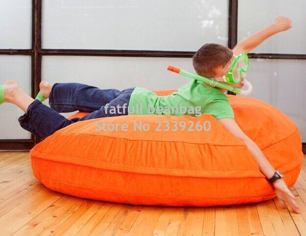 Cover Only No Filler Island Bean Bag Chair Children Cuddle Beanbag Sofa Seat Waterproof Outdoor Hammock Living Room Beds