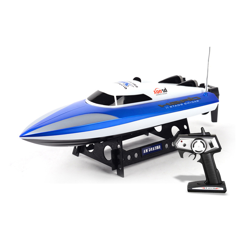 EBOYU(TM) Double Horse DH7010 Radio Control 2.4GHZ 4CH Children's Toys Speed RC Boat High Performance Waterproof SpeedBoat все цены