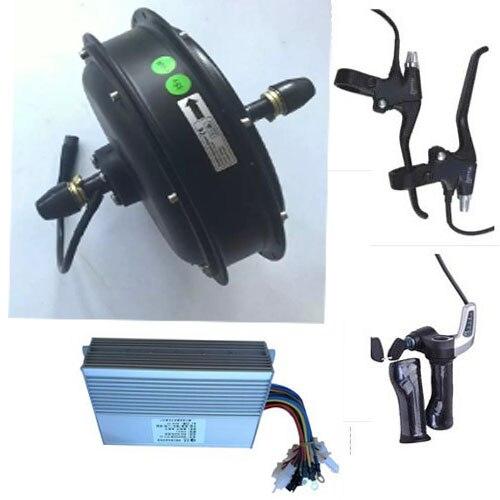 1500 W 48 V moteur de moyeu de roue électrique kit de moteur de VTT électrique kit de conversion de vélo électrique