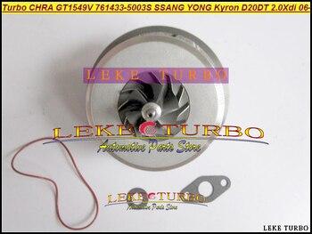 Turbo CHRA Cartridge GT1549V 761433-5003S 761433-0003 761433 A6640900880 A6640900780 For SSANG YONG Actyon Kyron D20DT 2.0L Xdi