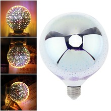 A60-3W-7W Dazzle Color Led Light Decoration Bulb with 360 Degree Luminescence Angle for Christmas/Holiday/Interior Decoration decoration inflatable bulb with light