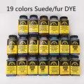 Amerikanischen importiert 19 farben 118 ml Wildleder Pelz Farbstoff Färbung Mittel Farbstoff Pigmente Diy Handgemachte Leder farbwechsel-in Aquarell aus Büro- und Schulmaterial bei