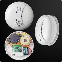 Inalámbrico de Casa Inteligente Sensible Fotoeléctrico detector de Humo Sensor Detector Inalámbrico Para Sistema de Alarma GSM Seguridad Para El Hogar