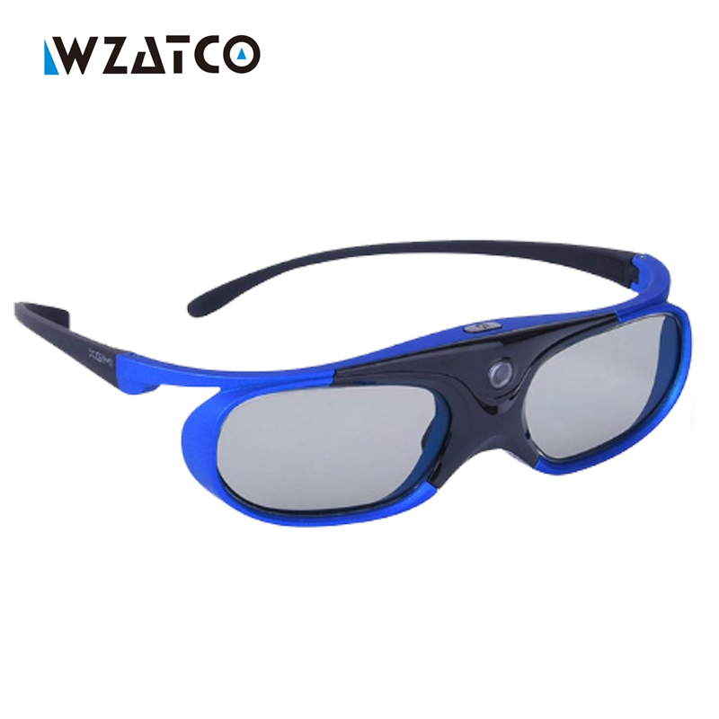 Hi-Quality Virtual Reality 3D Glasses Shutter LCD Glass for xgimi Z3 Z4 aurora H1 DLP Link 3D Projectors High Luminousness sg08 dlp 3d shutter glasses for dlp link projector black