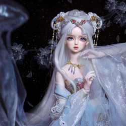 New arrival BJD SD 1/3 AS Xiao Xue 62cm fairy girl Free Eye Balls Fashion Shop   luodoll