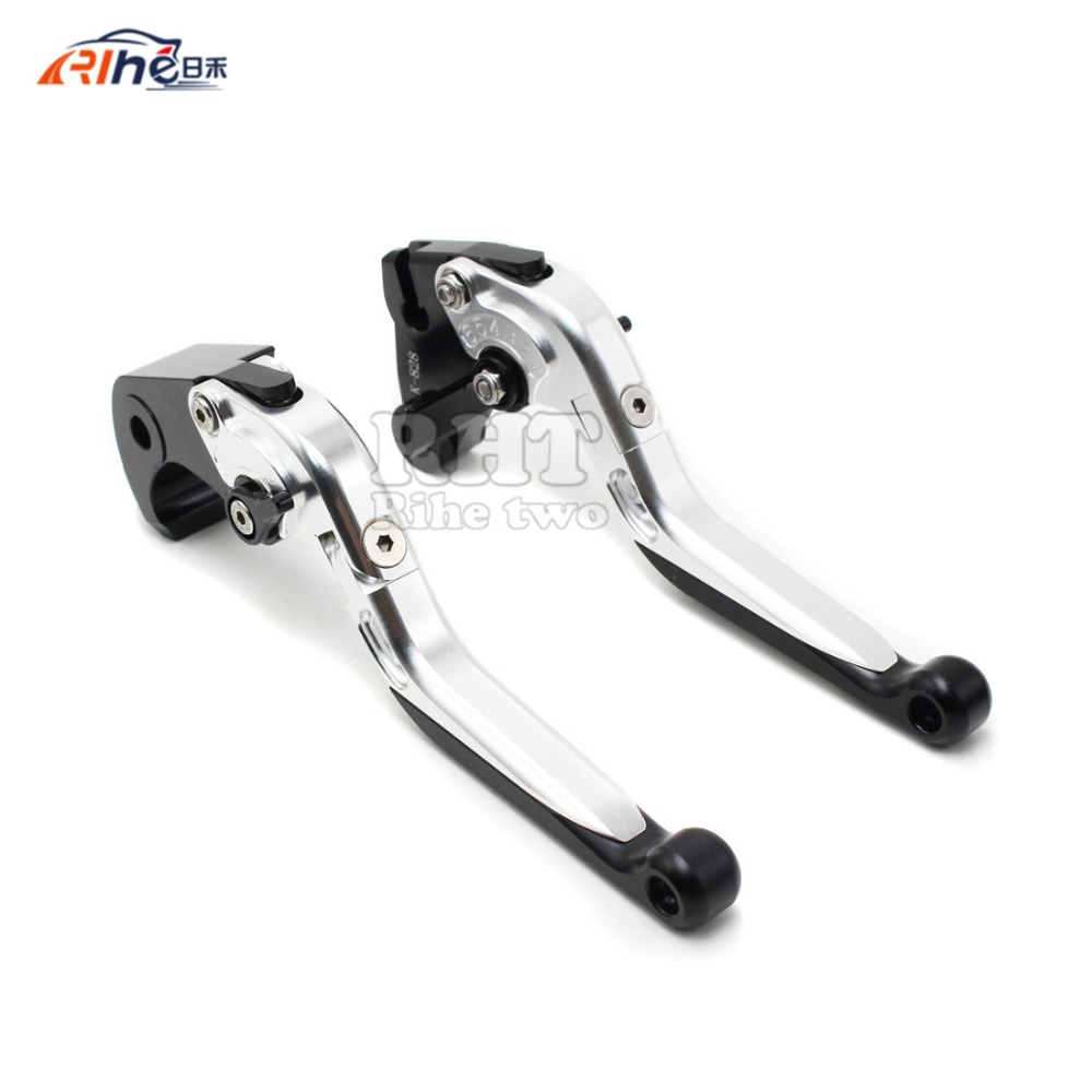 latest motorbike aluminum clutch levers motorcycle brake clutch lever  For   Suzuki SV650 SV650S 1999-2009 SV 650 650S 99-09 cnc brake clutch levers for suzuki sv650s sv1000s 03 13 sv 650s sv 1000s sv650 s 1000 03 04 05 06 07 extendable foldable lever