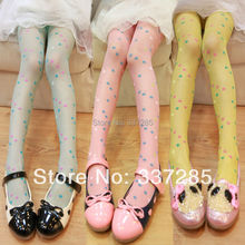 tights for children Four Leaf Clovertights girls multicolor kids lovely flowers pants