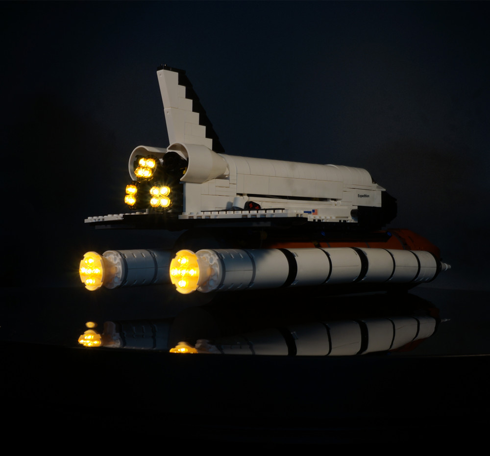Kyglaring Led Light Kit For Lego 10231 Space Shuttle Expedition Model To Make One Feel At Ease And Energetic Led Lighting