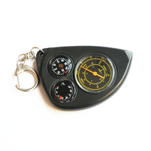 Camping Odometer Cross-country Race Hiking Map Range Finder Multifunction Compass Temperature Distance Measuring Equipment