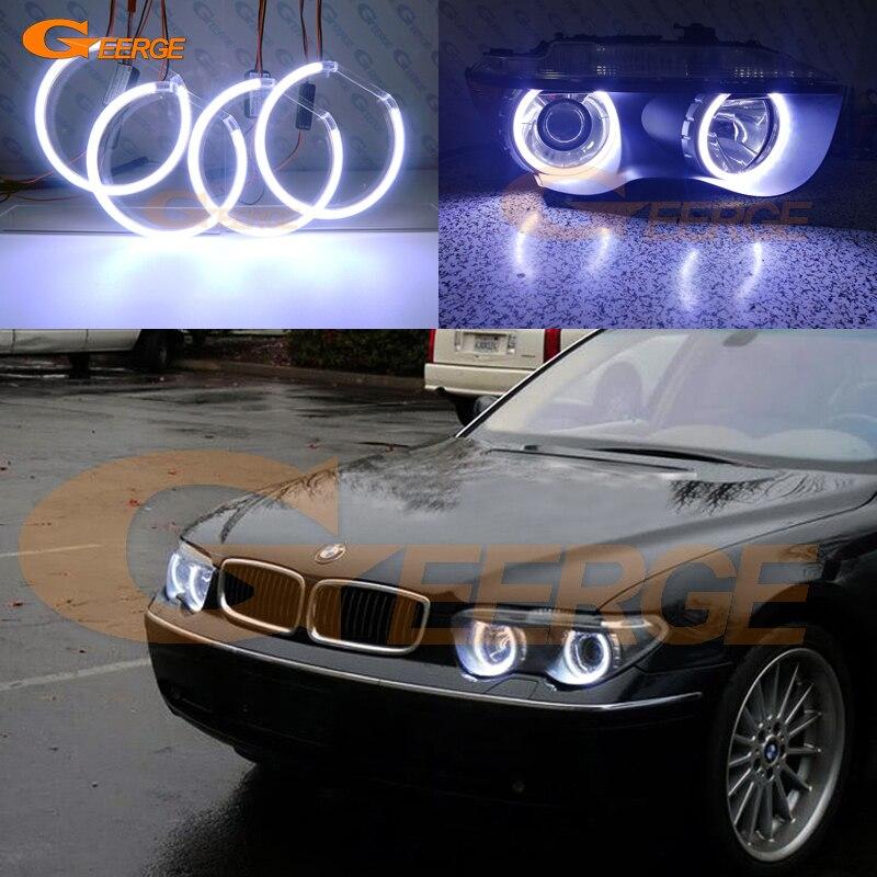 For BMW E65 E66 745i 745Li 760Li 760i 2002-2005 XENON HEADLIGHT Excellent Ultra bright illumination COB led angel eyes kit wholesale 1 piece new oxygen sensor o2 for bmw e60 e61 e65 e66 545i 745i 760i 745li 11787521705