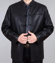 2016 Sale Half Casual Leather Jacket Men New Leather Men's high quality Jacket Europe Self-cultivation Leisure With Large Code