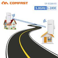 2pc 5.8G Outdoor CPE AP Router WiFi Signal Hotspot Amplifier Repeater 3KM Long Range Wireless Bridge PoE Access Point Antenna AP