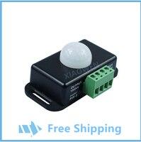 DC 12V/24V Body Infrared PIR Motion Sensor Switch For LED Light Strip Automatic 5PCS/LOT