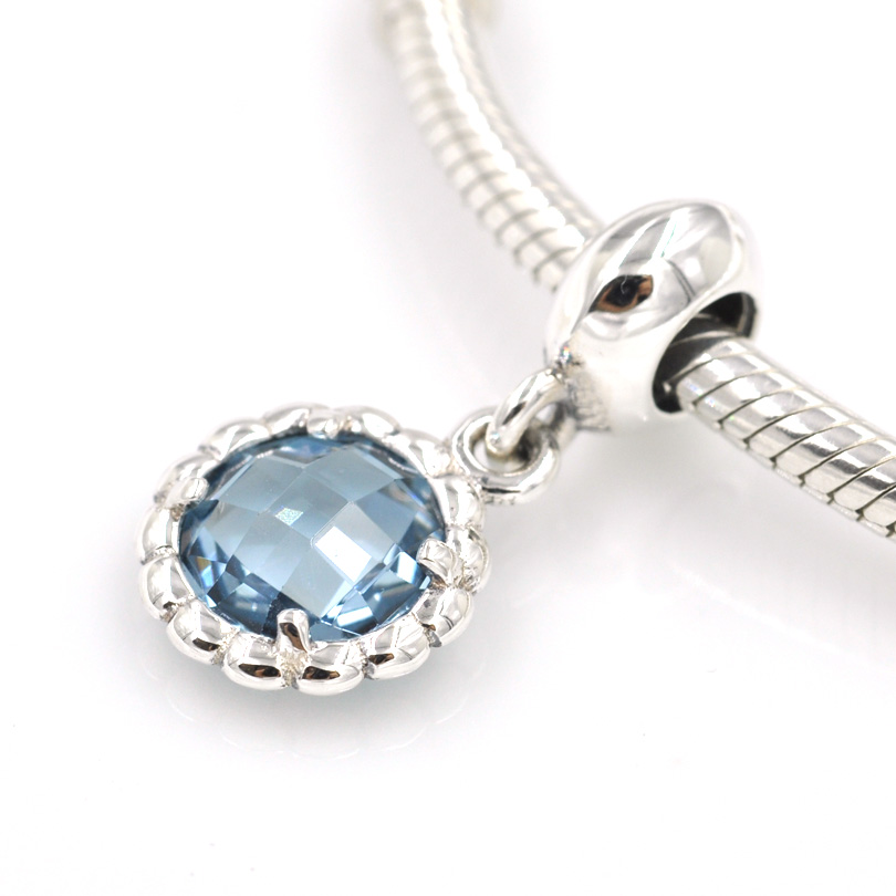 24d9f3b54 ... where can i buy fit europe charms bracelet necklace authentic 925  sterling silver beads blue bell