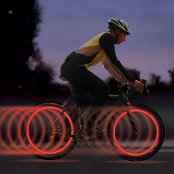 LED Bike Cycling Light Lamp Bicycle Cycle Wheel Flashing Spoke Tyre Red White Green Safety