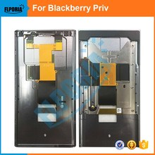 FLPORIA For BlackBerry Priv Front LCD Frame Supporting Bezel Chassis Housing  Replacement Parts