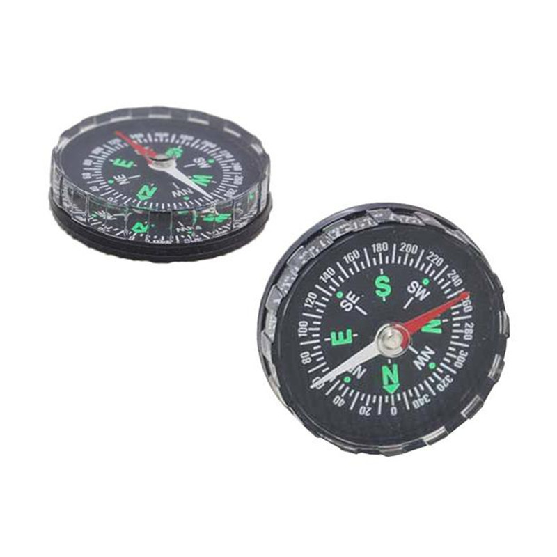 snowshine3 YLS   Mini Pocket Liquid Filled Button Compass for Hiking Camping Outdoor  free shipping #cydj#