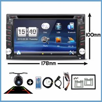 Car Electronic 2din Car DVD Multimedia Player radio cassette recorder receiver Auto Radio GPS Stereo Free Map Camera RDS 178*100