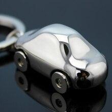 Брелок из нержавеющей стали Маленькая Автомобильная подвеска автомобиль брелок авто металлический брелок для BMW Ford аксессуары