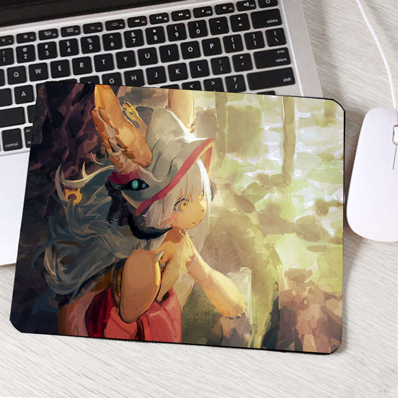 Mairuige Made In Abyss Anime Pattern Printed Pc Computer Mousepad Creative Diy Animation Manga Comic Mouse Pads For Decorate