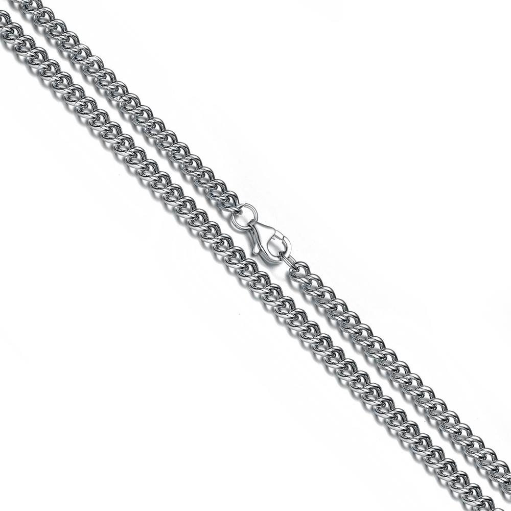 Aceworks 925 Sterling Silver Chain Necklace for Pendants Charms S925 Curb Chain  24 Inch Womens Mens Jewelry Gift 43321ff85c