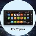 Автомобильный DVD Для TOYOTA Android 4.4 Автомобильный DVD 2 din Car PC WI-FI GPS Навигация В ТИРЕ Для toyota/RAV4/Corolla/Avensis/Hilux/Camry