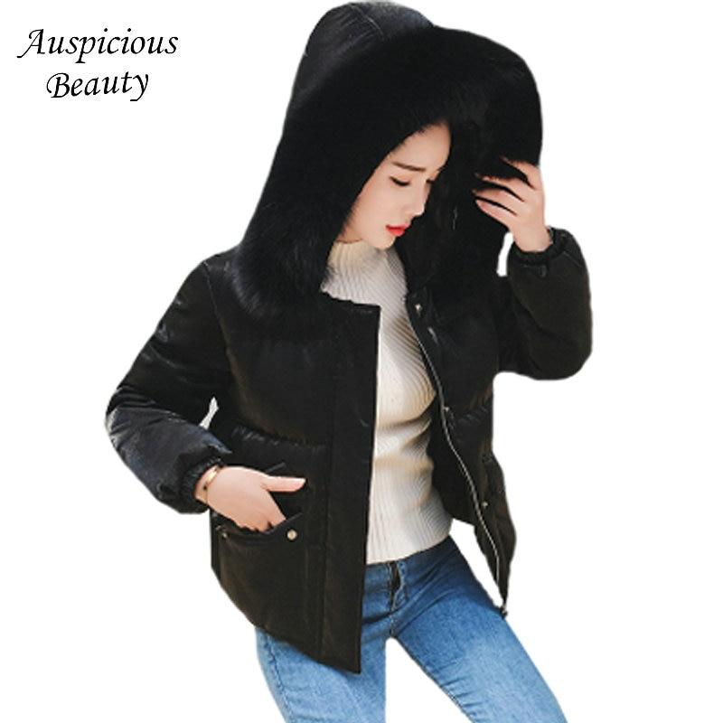 Fashion Winter Down Jacket Women Fur Collar Coats Female Ultra-light Long Down Coats Elegant Outwear Hooded Ladies Jackets SHZ82