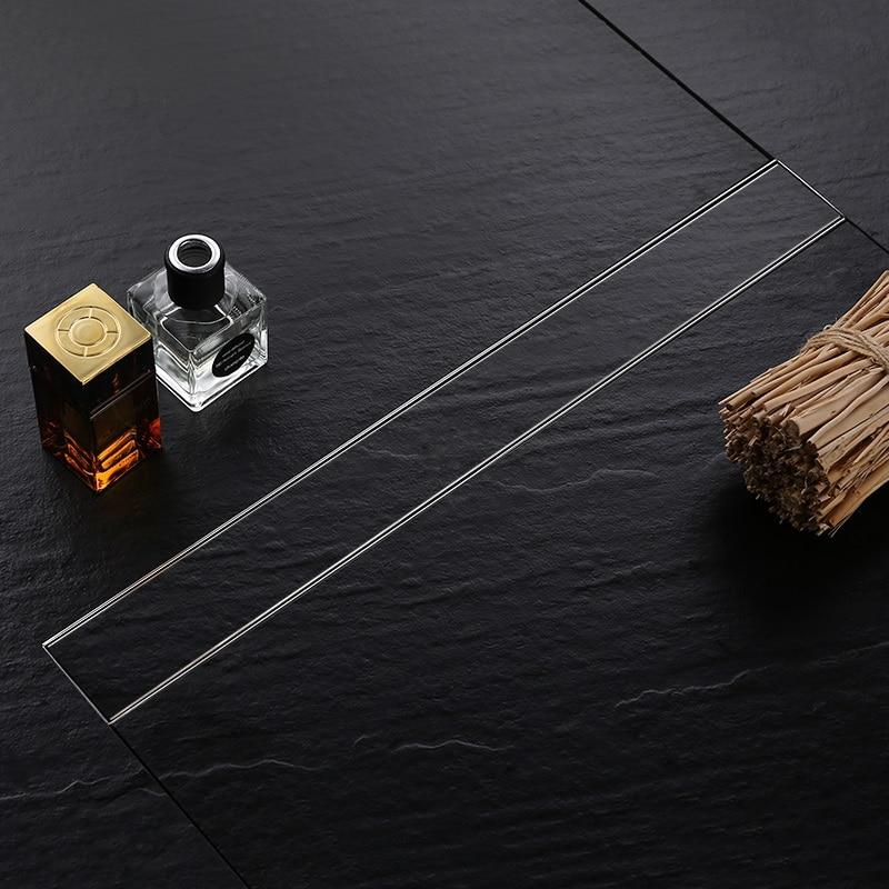 Нержавеющая сталь 80 см плитка вставка прямоугольный линейный анти запах пол слив ванная комната оборудование Невидимый душ