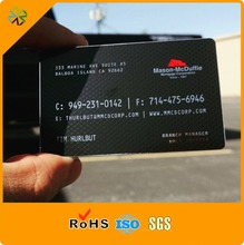 Custom Laser Cut China Black Anodized Aluminum Stainless Steel Magnetic Stripe Gold Mirror Blanks Metal Business Card