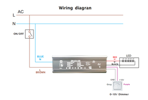Image 4 - Controlador LED sin parpadeo, 100W, 120W, 150W, 200W, 240W, Super potencia, IP65, 0 10V, 1 10V, salida de corriente constante