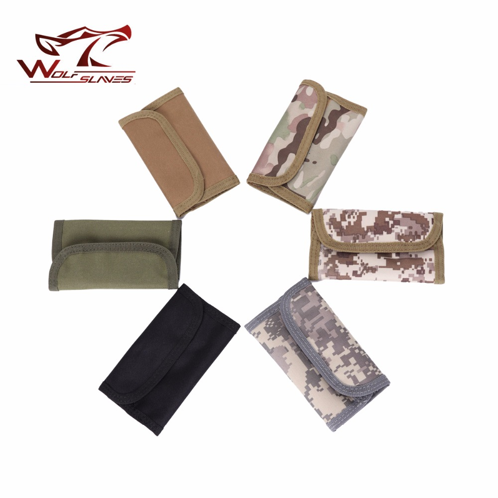 Hunting Bag Men Wallet Hook&Look Small Purse Military Tactical Gear Pocket Handbag For Credit Card Case Hunting Accesories Pouch
