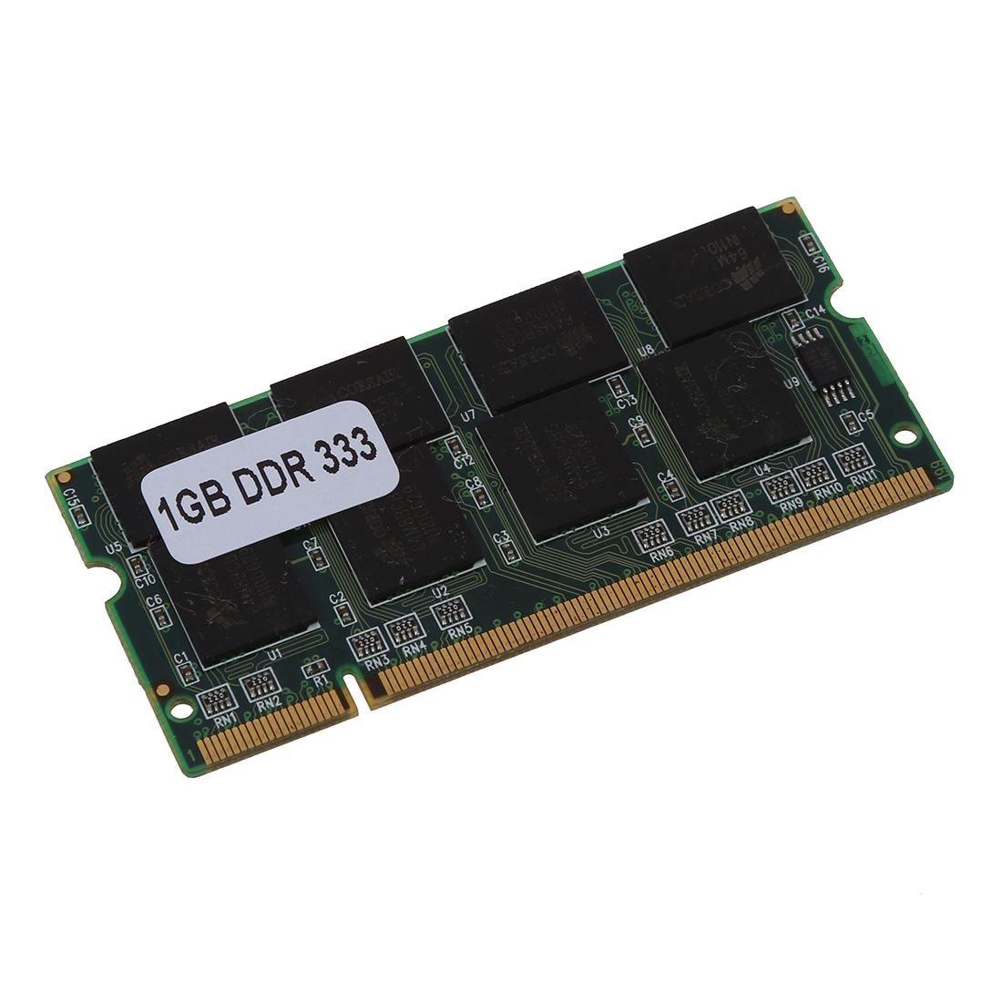 DDR1 1GB RAM PC2700 200Pin Sodimm Laptop Memory DDR 1GB,  333MHZ  NON-ECC PC DIMM