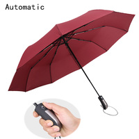 Fashion Automatic Male Umbrella Rain Anti Women Folding Umbrellas Guarda Chuva Parasol Paraguas Parapluie Sombrinhas Mulher