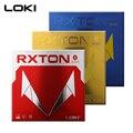 LOKI RXTON серия ITTF одобренный резиновый красный пипс для настольного тенниса в жесткой липкой резиновой губке для пинг понга для быстрой атаки/...