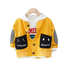Baby Boys Jacket Autumn Winter Jacket Coat Kids Cute Cartoon Pattern Baby Outerwear Coat Boys Girls Kids Children Clothing 2017 winter boys cartoon hood coat jacket baby winter clothes