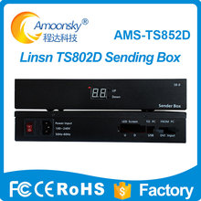 amoonsky full color led display control panel box linsn TS852D led video screen sending box цена