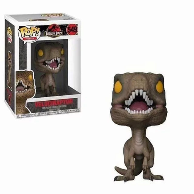 Funko POP Jurassic Park & Dinosaur PVC Action Figure Collection model toys birthday Gift 1