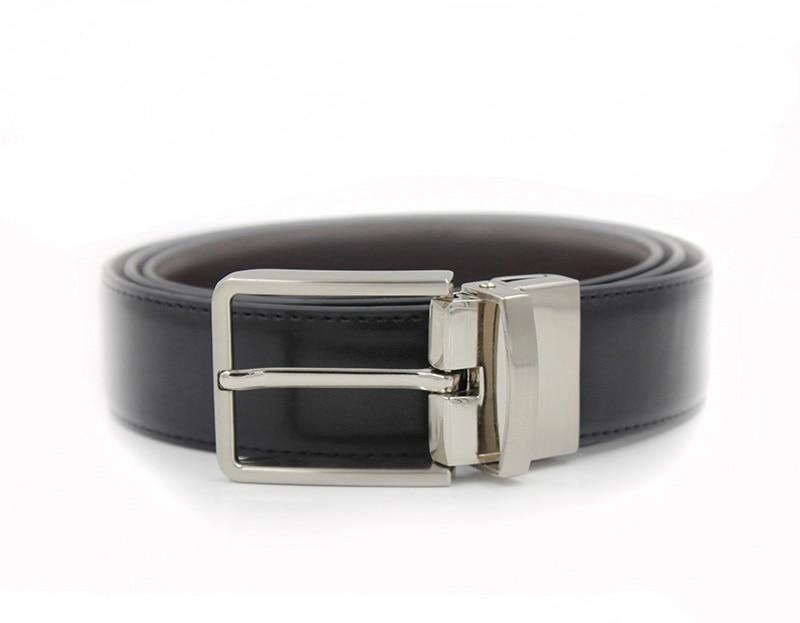 20c4a4404d592 Mens Belts Luxury 2017 Hot Mens Designer Leather Belt Black Belt For Men  Black Waist Belt With 35mm Wide Reversible Buckle-in Men's Belts from  Apparel ...