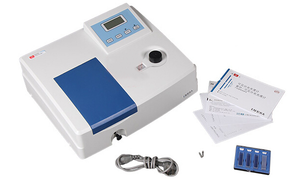 Фото Visible Spectrophotometer Lab Equipment 340nm~1000nm 5nm 721G 220V