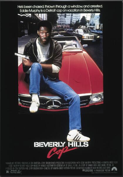 Beverly Hills Cop Eddie Murphy movie SILK POSTER Decorative painting 24x36inch image
