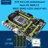 HNan Motherboard CPU Combos Intel X79 LGA 2011 Motherboard With CPU Xeon E5 2660 C2 16G