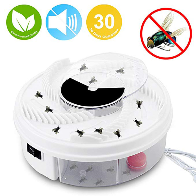 Electric Fly Trap Device USB Powered Automatic Fly Catcher and Eco-Friendly Fly Insect Killer Pest Control for Indoor/outdoor