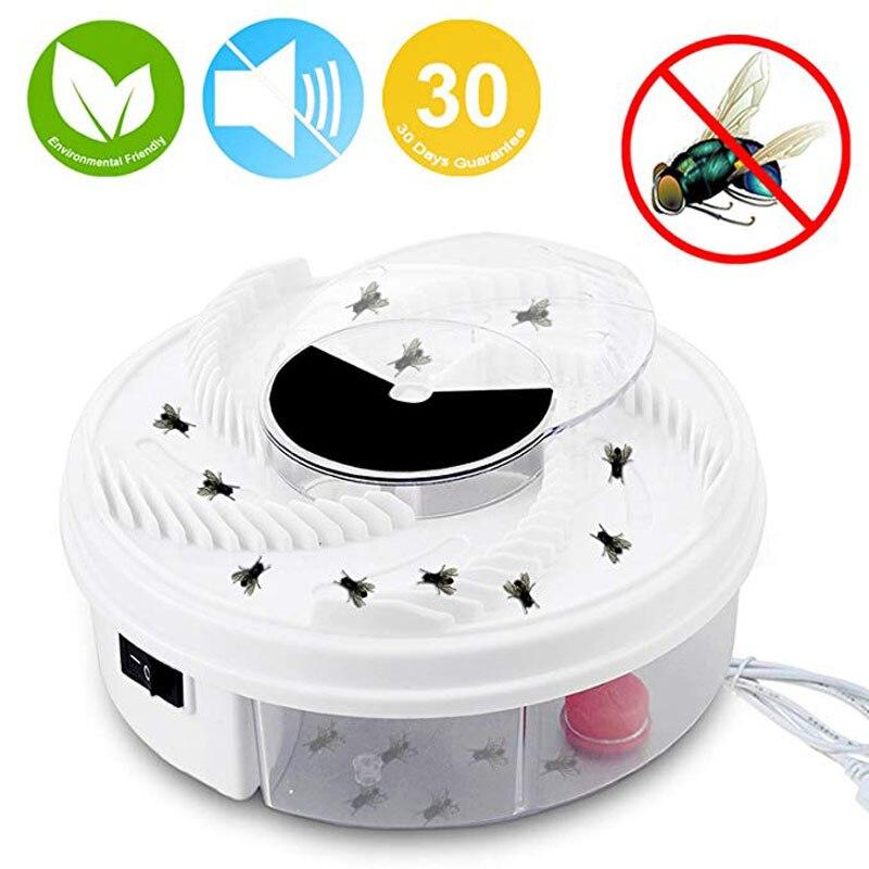 Elektrische Fliegenfalle Gerät USB Powered Automatische Fly Catcher und Umweltfreundliche Fly Insekten Mörder Schädlingsbekämpfung für Indoor/outdoor