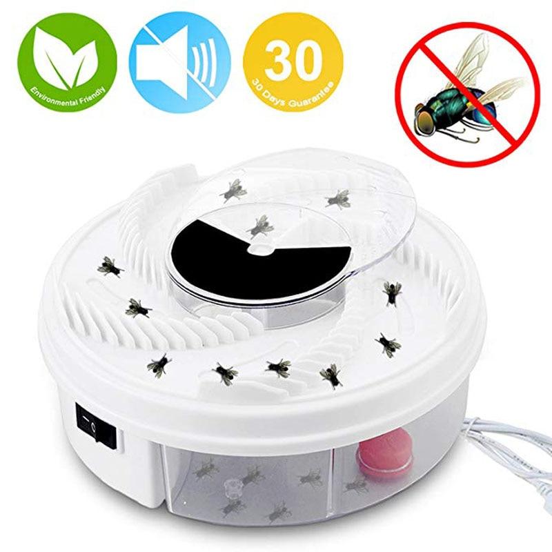 Elettrico Fly Trap Dispositivo USB Alimentato Automatico Fly Catcher ed Eco-Friendly Fly Insect Killer di Controllo Dei Parassiti per Indoor/outdoor