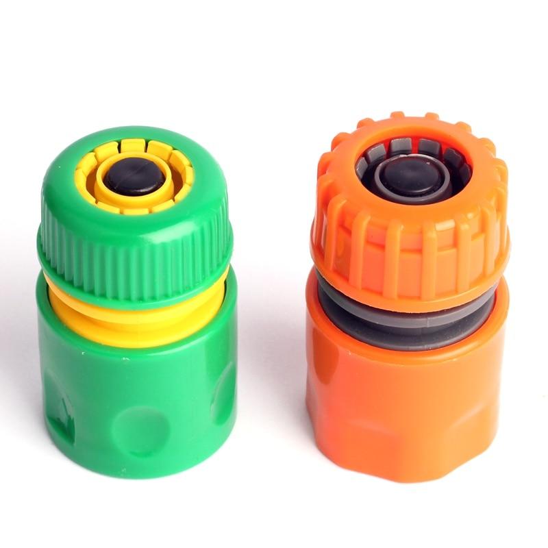 ABS 2 Type G 1/2'' Water Hose Quick Connectors Backflow-proof Irrigation Fast Joints Garden Watering Gun/Pipe Accessories