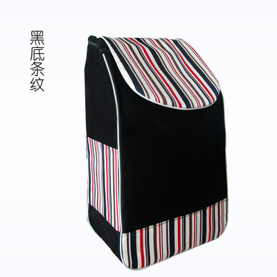 Купить с кэшбэком Shopping cart to buy food cart bag large waterproof thickened waterproof bag double trolley trolley bag, Oxford bag