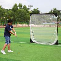 USA Shipping 7*7cm Golf Training Professional Target Net Exercise Mesh Net Multi Flat Hitting Cages Net