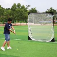 USA Shipping 7*7cm Golf Training Professional Target Net Exercise Mesh Net Multi Flat Hitting Cages Net