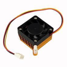 YCDC VGA Card Heatsink Fan 3 PINS 12V CONNECTOR COMPUTER PC VGA VIDEO CARD HEATSINK COOLER COOLING FAN все цены