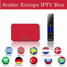 Arabe IPTV Boîte AVOV Europe IPTV TV en ligne Royal IPTV smart tv box 1800 + livetv Canaux Éternellement Canaux Mieux Que Mag254